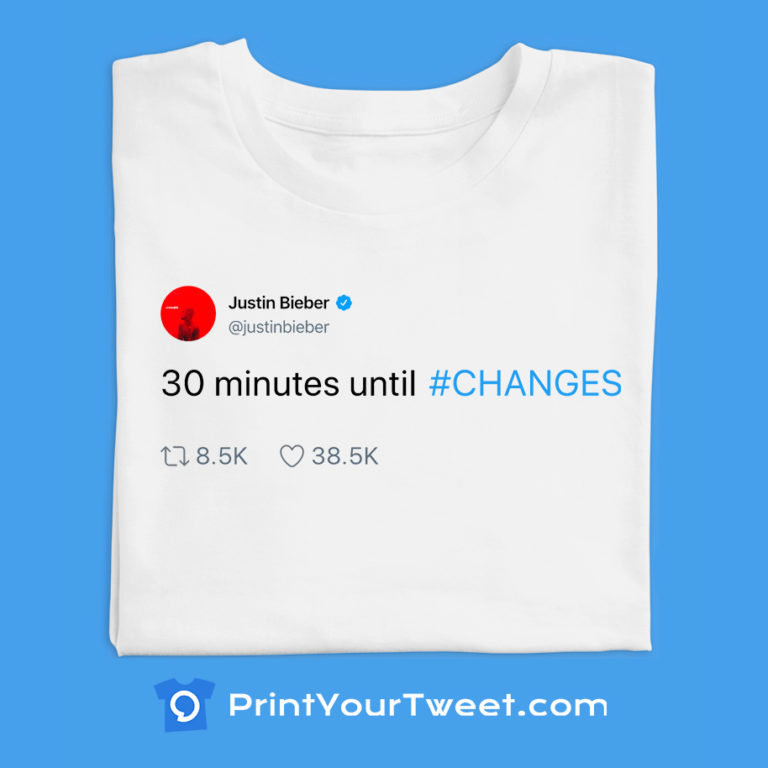 Top Justin Bieber tweets to print on your t-shirt today